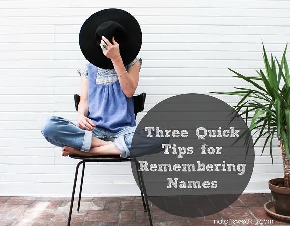 Houston Etiquette Speaker Natalie Weakly How to Remember Names