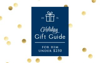 Holiday Gift Guide For Him Under $250 Signature Style Personal Stylist Houston Natalie Weakly Intro Pic