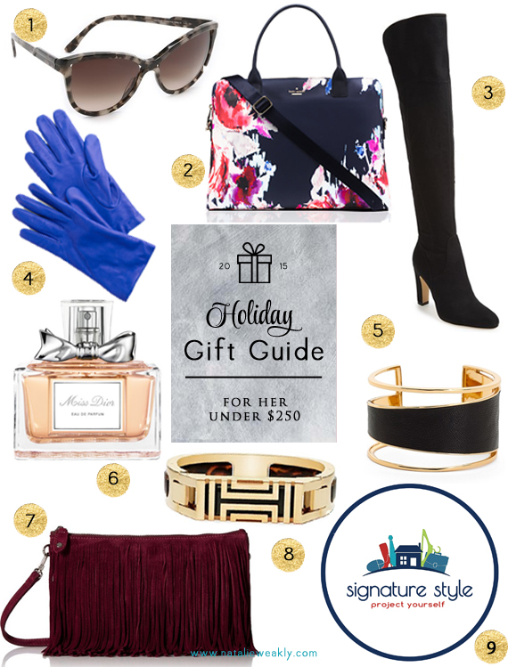 Signature Style Personal Shopper Houston Natalie Weakly Holiday Gift Guide For Her Under $250