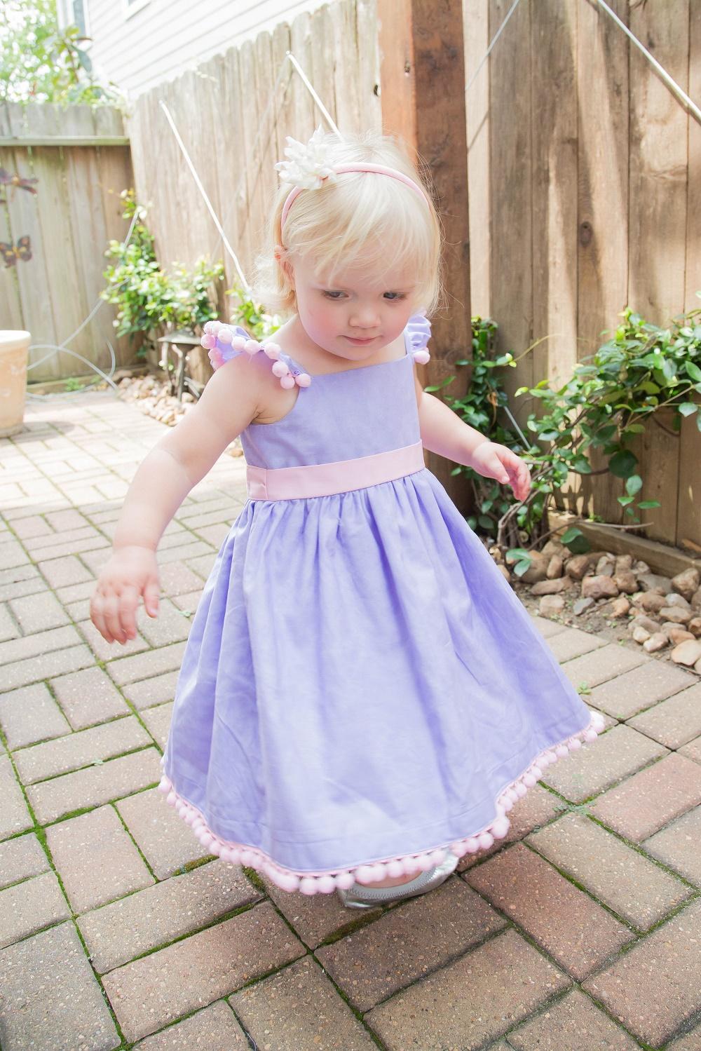 Tiny Intern Turns Two Bike Themed Girls Party Birthday Girl Cuteheads Custom Dress