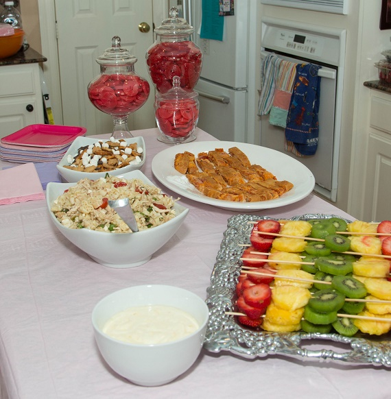 Tiny Intern Turns Two Bike Themed Girls Party Food Ideas Houston Signature Style