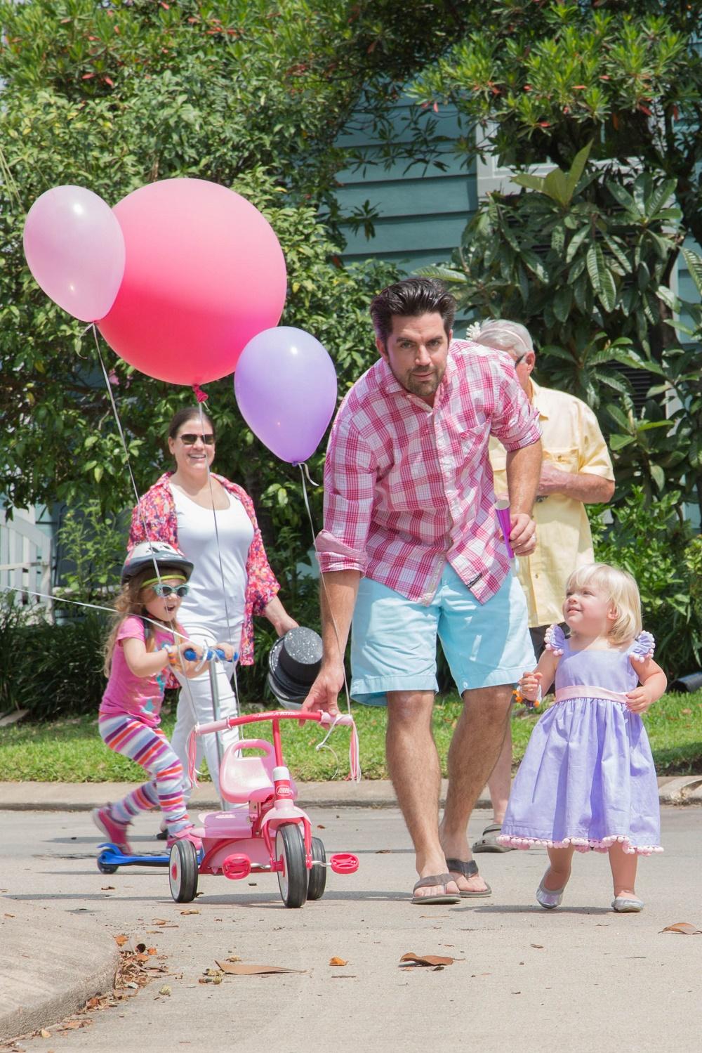 Tiny Intern Turns Two Bike Themed Girls Party Mini Parade Birthday Girl