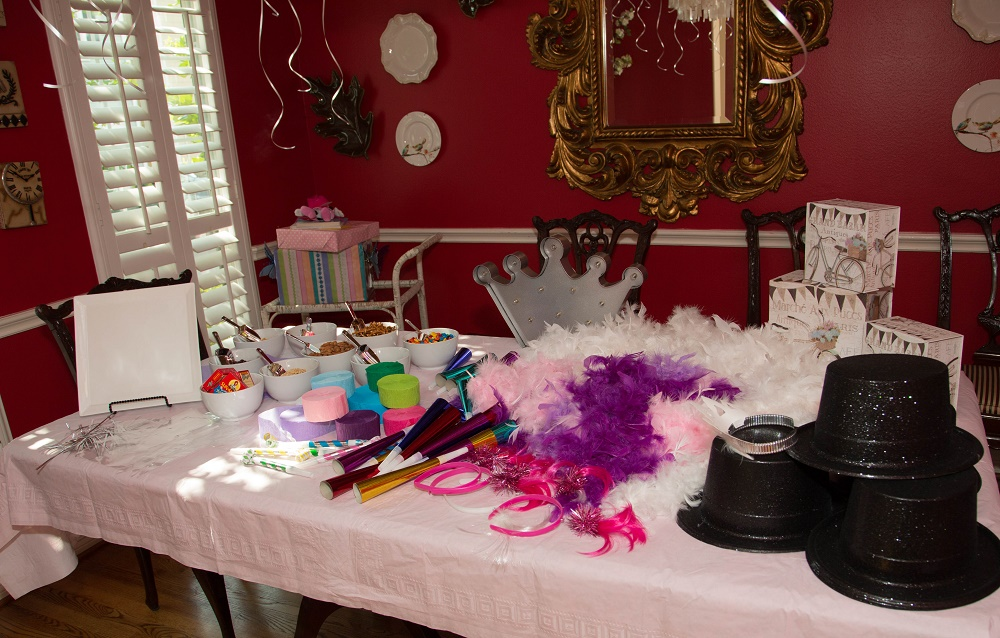 Tiny Intern Turns Two Bike Themed Girls Party Mini Parade Props Personal Stylist Houston