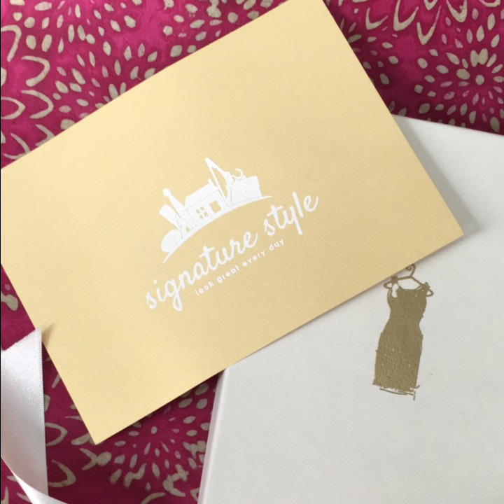 styled gift card