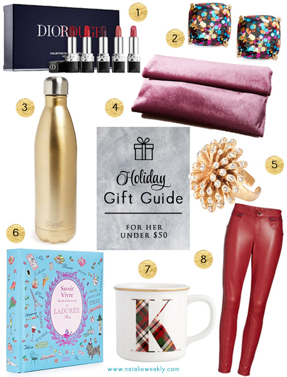 2017 Holiday Gift Guides Under 50 For Her by Signature Style