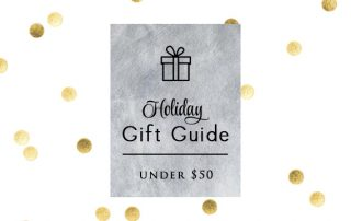 Holiday Gift Guide Under 50 by Signature Style Intro Pic