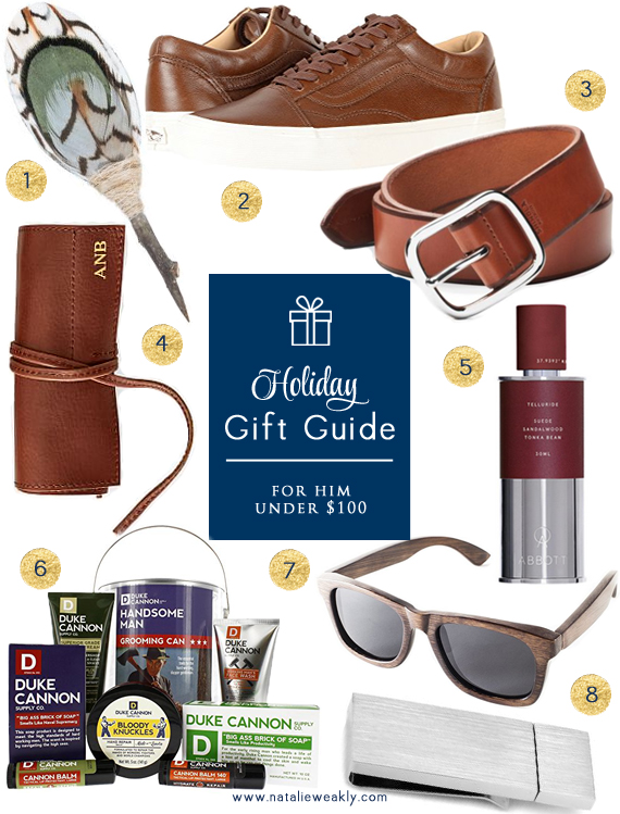 2017 Holiday Gift Guide For Him Under 100 by Signature Style
