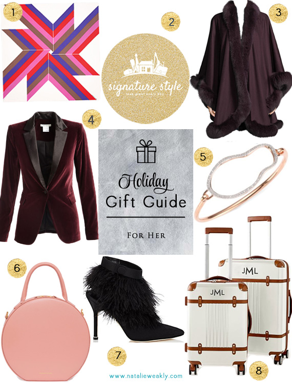 Holiday Gift Guide For Her Splurge Edition by Signature Style