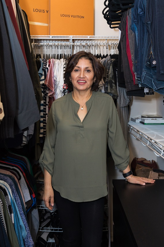 Signature Style Makeover For Life Makeover Winner After Closet Shot Image Consultant Houston