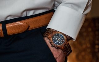 Signature Style Makeover For Life Winner Wood Watch Detail Shot Image Consultant Houston