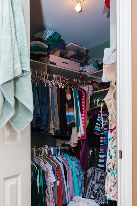 Signature Style Makeover For Life Before Closet Full Photo Image Consultant Houston