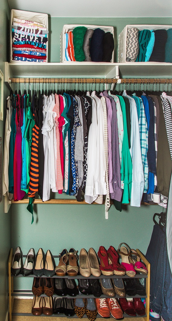 How to Edit Your Closet Like a Pro Image Consultant Houston DIY Your Closet Final Results