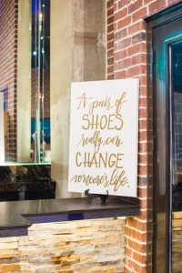 Signature Style Makeover For Life Five Year Anniversary Celebration A Pair of Shoes Can Change Someone