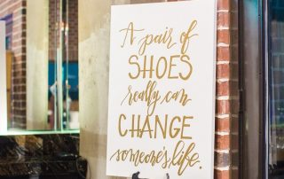 Signature Style Makeover For Life Five Year Anniversary Celebration A Pair of Shoes Can Change Someone's Life