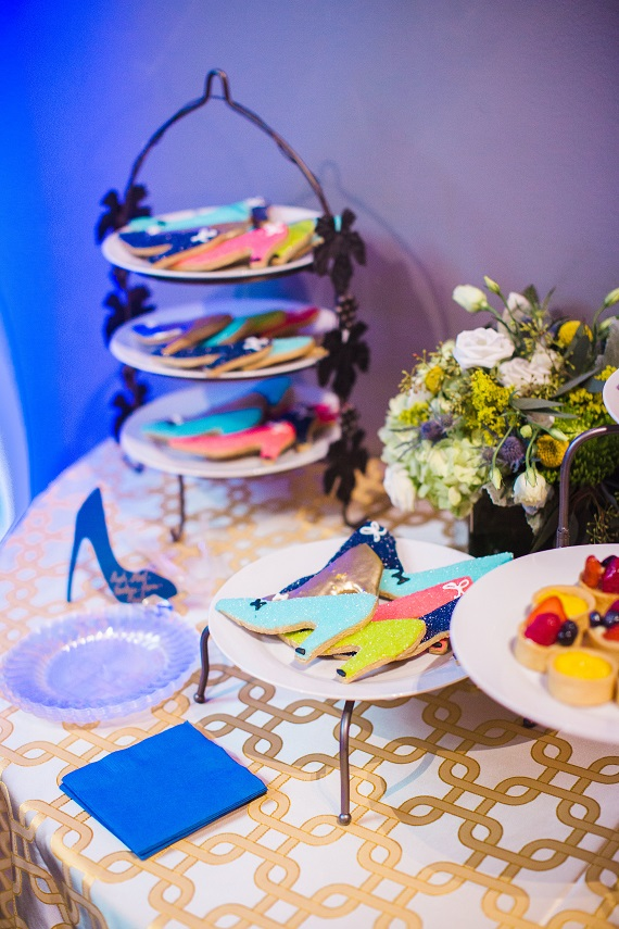 Signature Style Makeover For Life Five Year Anniversary Celebration Paulie's Shoe Cookies