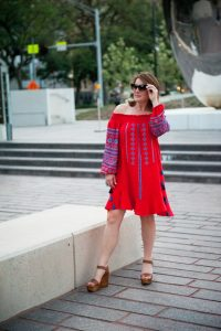 How to Shop Smart Inspired-by Embroidered Dress Image Consultant Houston