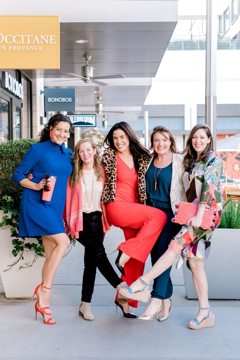 How to wear coral Houston Image Consultant Natalie Weakly Styled Models