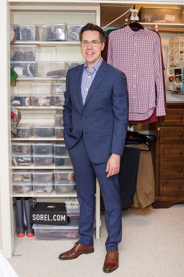 Makeover Winner Male Suiting After Image Consultant Houston