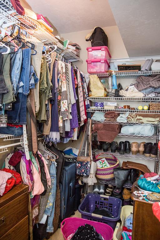 Makeover Winner Female Closet Before Photo Image Consultant Houston