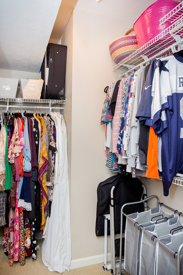 Makeover Winner Female Closet Side View After Photo Image Consultant Houston